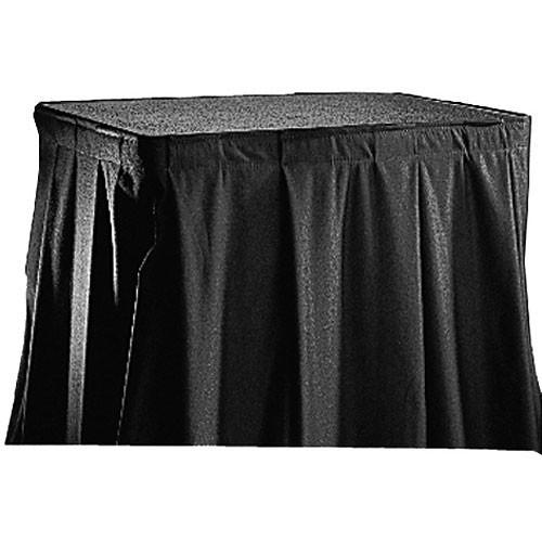 Da-Lite  Poly-Sheen Skirting (Black) 69836 69836