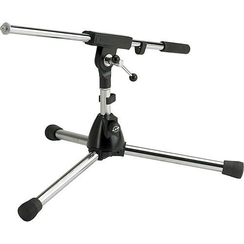 K&M 259/1 Extra Low Microphone Stand with Boom Arm 25910-500-55