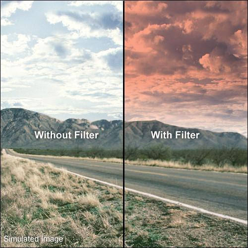 LEE Filters 100 x 150mm Hard-Edge Graduated Pop Red Filter PRGH