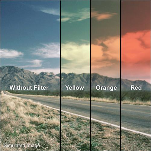 LEE Filters 100 x 150mm Hard-Edge Graduated Sunset Orange SUNOH