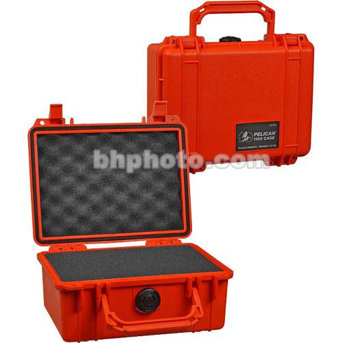 Pelican 1150 Case with Foam (Orange) 1150-000-150