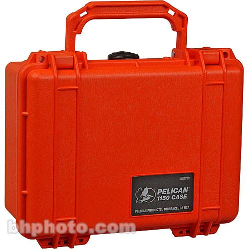 Pelican 1150 Case without Foam (Orange) 1150-001-150