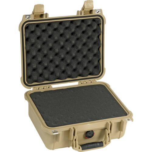 Pelican 1400 Case with Foam (Silver) 1400-000-180
