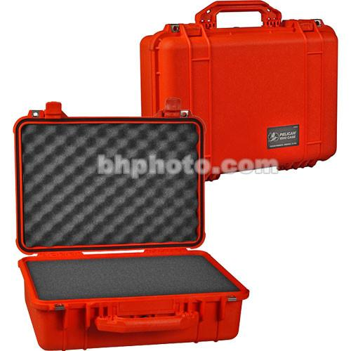 Pelican 1500 Case with Foam (Orange) 1500-000-150