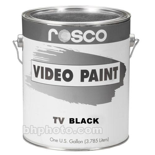 Rosco  TV Paint - Black 150057400128
