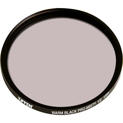 Tiffen 58mm Warm Black Pro-Mist 1/2 Filter 58WBPM12
