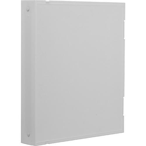 Vue-All Archival Safe-T Binder (With Rings, White) V201