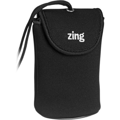 Zing Designs  Camera Pouch, Large (Black) 563-301
