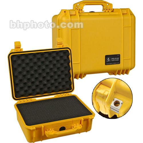 Pelican 1450 Case with Foam (Yellow) 1450-000-240