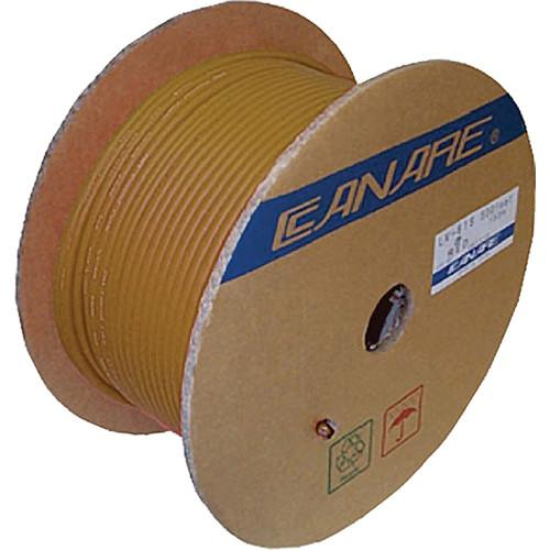 Canare LV-61S Video Coaxial Cable (500' / Yellow) LV-61S 153M