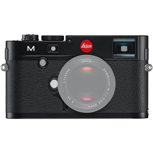 Leica M Digital Rangefinder Camera (Body Only, Silver) 10771