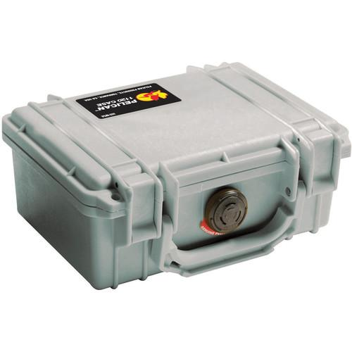 Pelican 1120 Case without Foam (Silver) 1120-001-180