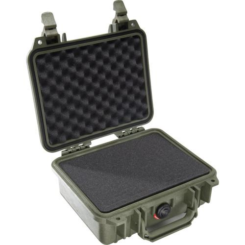 Pelican 1200 Case with Foam (Yellow) 1200-000-240