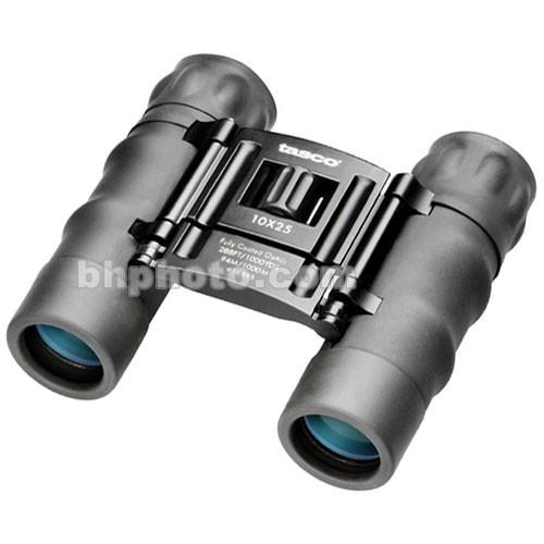 Tasco 10x25 Essentials Compact Binocular (Black) 168RB