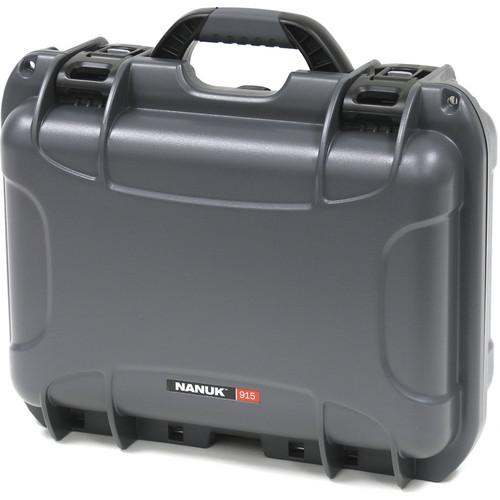 Nanuk 915 Case with Padded Dividers (Silver) 915-2005