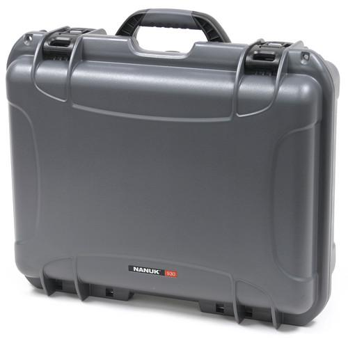 Nanuk 930 Case with Padded Dividers (Graphite) 930-2007