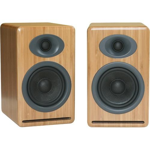 Audioengine P4 2-Way Passive Bookshelf Speakers AP4B