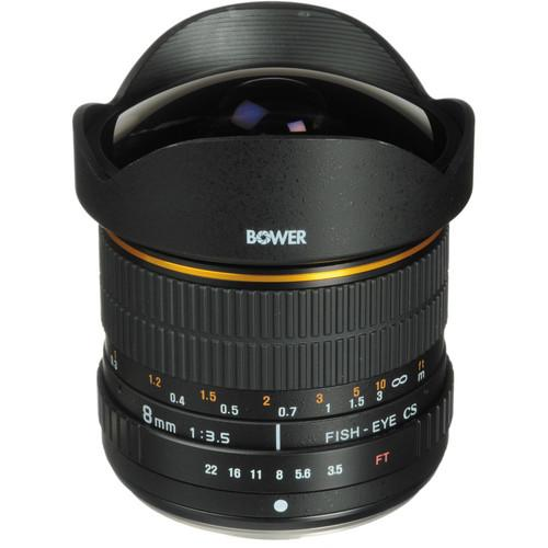 Bower SLY 358N 8mm f/3.5 Fisheye Lens for Nikon APS-C SLY358N