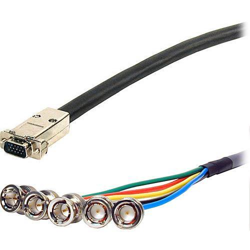 Comprehensive 200' (61 m) UHR HD15 Plug to VGA15P-5BP-200UHR