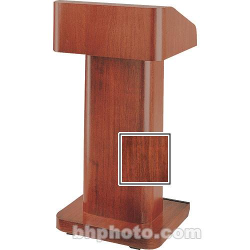 Da-Lite 25-in. Contemporary Pedestal Lectern - Mahogany 74599MV