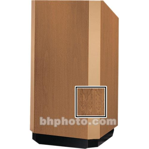 Da-Lite 25-in. Floor Model Yorkshire Lectern - Mahogany
