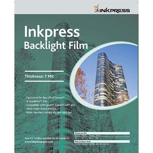 Inkpress Media  Backlight Film IBF111720