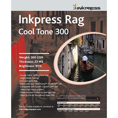 Inkpress Media Rag Cool Tone 300 Paper PRCT300851125