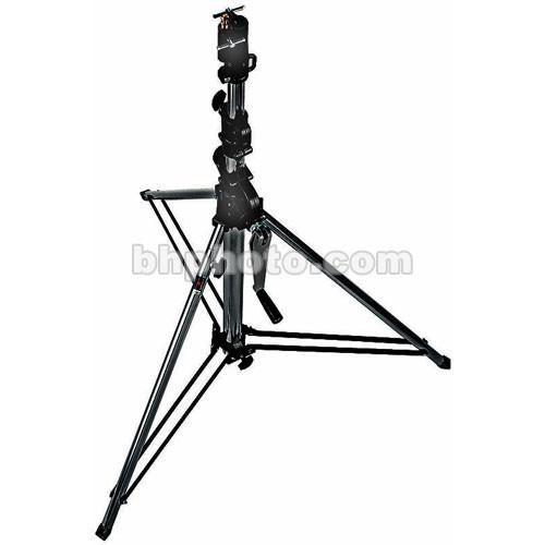Manfrotto Short Wind-Up Stand (Black, 9') 087NWSHB