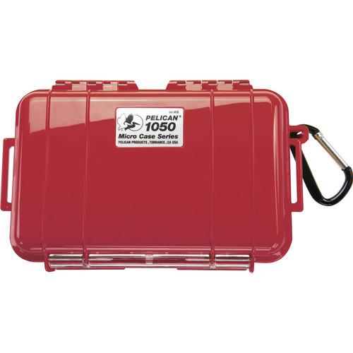 Pelican  1050 Solid Micro Case (Red) 1050-025-170