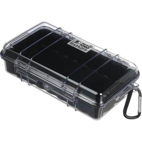 Pelican 1060 Clear Micro Case (Blue) 1060-026-100