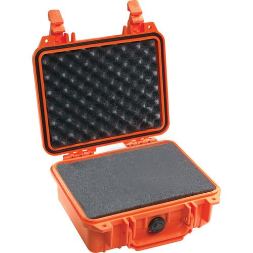 Pelican 1200 Case with Foam (Orange) 1200-000-150