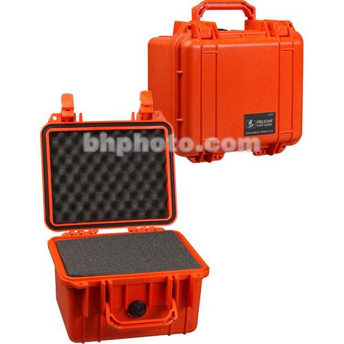 Pelican 1300 Case with Foam (Orange) 1300-000-150