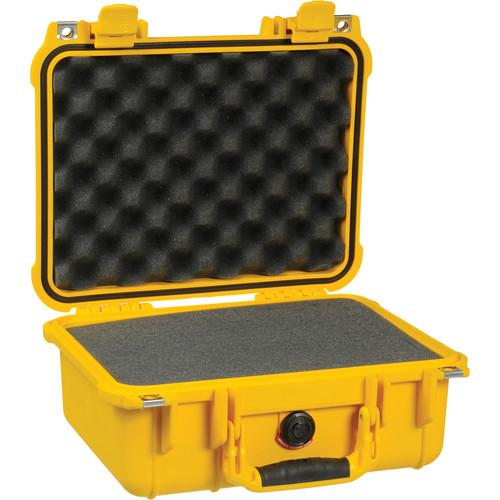 Pelican 1400 Case with Foam (Yellow) 1400-000-240