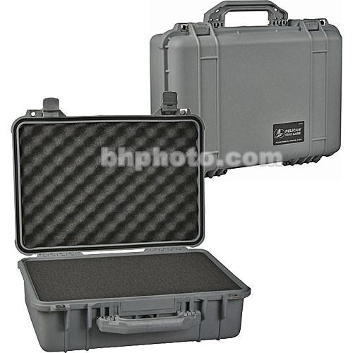 Pelican 1500 Case with Foam (Silver) 1500-000-180