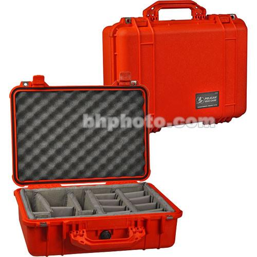 Pelican 1504 Waterproof 1500 Case with Padded Black 1500-004-180