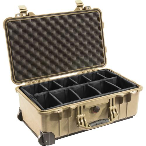 Pelican 1514 Carry On 1510 Case with Dividers 1510-004-110, Pelican, 1514, Carry, On, 1510, Case, with, Dividers, 1510-004-110,