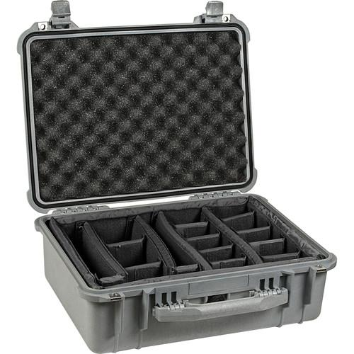 Pelican 1554 Waterproof 1550 Case with Dividers 1550-004-180