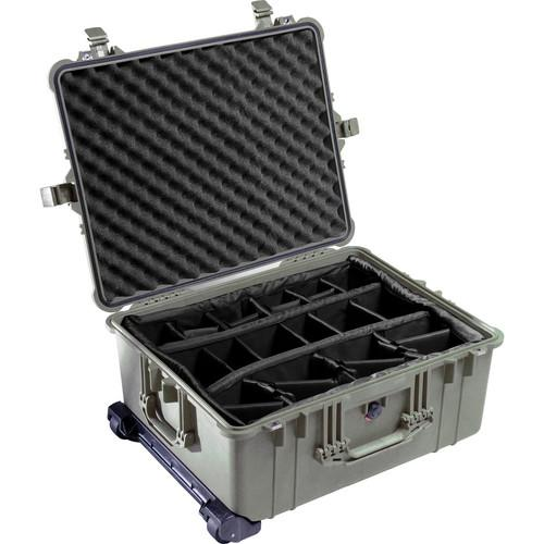 Pelican 1614 Waterproof 1610 Case with Dividers 1610-024-110