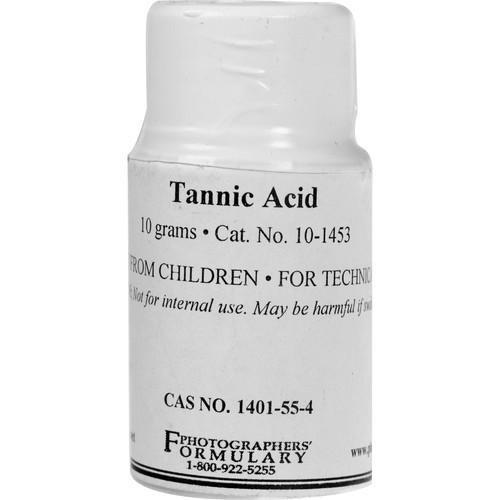 Photographers' Formulary Tannic Acid (100g) 10-1453 100G