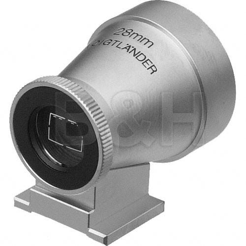 Voigtlander  Viewfinder for 28mm (Silver) DA426A