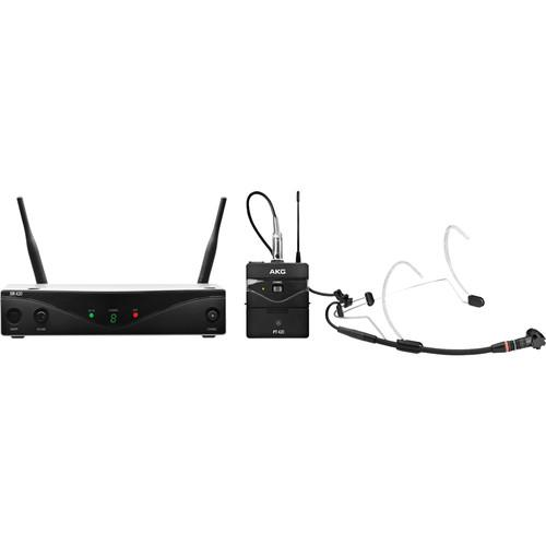 AKG WMS420 UHF Wireless Headworn Microphone System 3413H00010