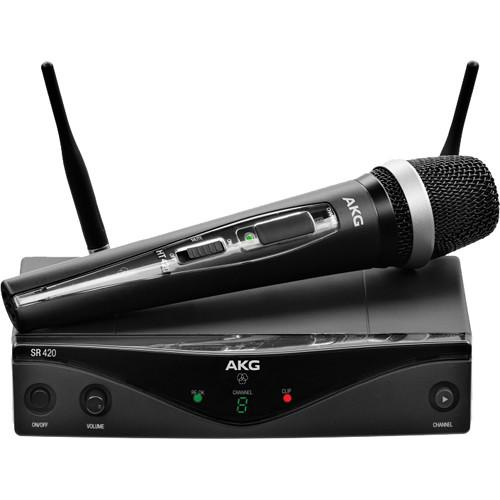 AKG  WMS420 UHF Wireless Vocal Set 3416H00010