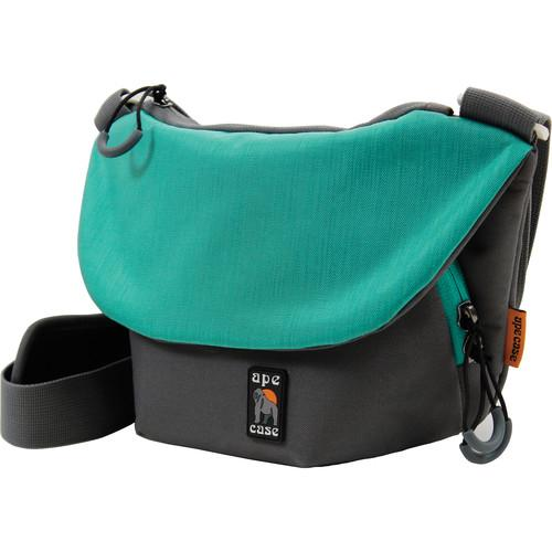 Ape Case Compact Tech Messenger Case (Grey & Teal) AC560T