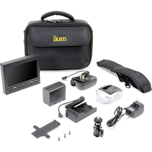 ikan VK5 Field Monitor Deluxe Kit with Panasonic D54 VK5-DK-P
