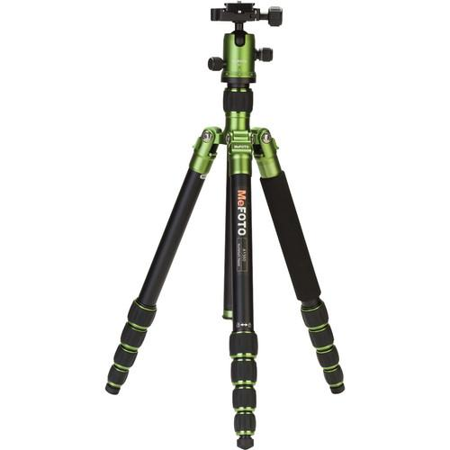 MeFOTO RoadTrip Aluminum Travel Tripod Kit (Chocolate) A1350Q1E