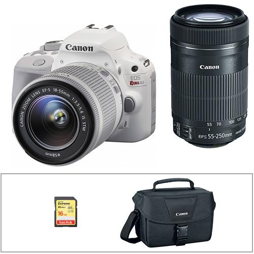 Canon EOS Rebel SL1 DSLR Camera with 18-55mm Lens 9123B002