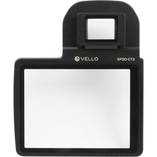 Vello Snap-On Glass LCD Screen Protector for Nikon SPSO-ND3200