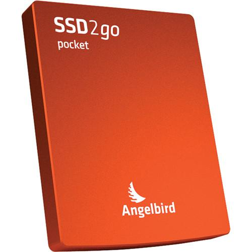 Angelbird 128GB SSD2go Pocket Portable Solid State 2GOPKT128RK