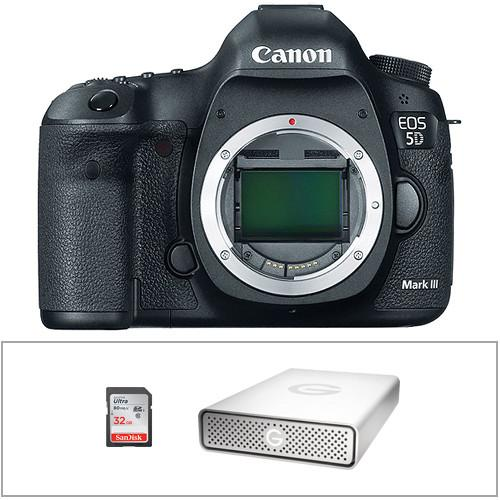 Canon EOS 5D Mark III DSLR Camera (Body Only) 5260B002