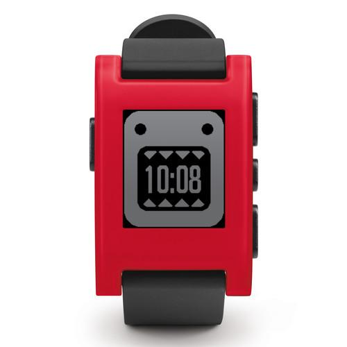 Pebble  Smartwatch (Cherry Red) 301RD